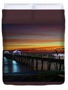 Juno Pier Twilight Wide Duvet Cover