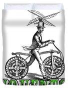 Junquentoys Bike-o-vator Duvet Cover