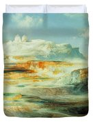 Jupiter Terrace  Yellowstone Duvet Cover