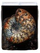 Jurassic Ammonite Duvet Cover