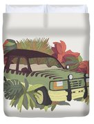 Jurassic Car Duvet Cover