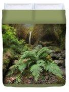 Jurassic Forest Duvet Cover