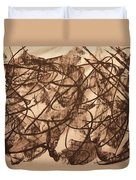 Jurisdiction Indine Duvet Cover