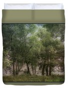 Just A Few Trees Duvet Cover