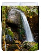 Just A Very Small Waterfall II Duvet Cover