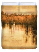 Just After Dawn Duvet Cover