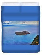 Just An Island Away Duvet Cover