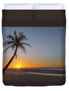 Just Another Bantayan Island Sunrise Duvet Cover