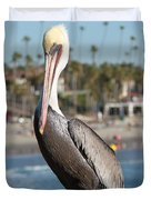 Just Another Day At The Beach Duvet Cover