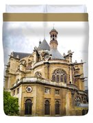 Just Another Paris Cathedral Duvet Cover