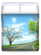 Just Around The Corner Duvet Cover