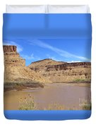 Just Around The River Bend 5 Duvet Cover