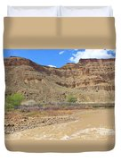 Just Around The River Bend 6 Duvet Cover