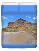 Just Around The River Bend 7 Duvet Cover