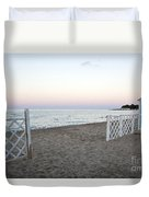 Just Before Sunset  Duvet Cover