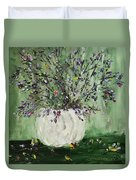 Just Beginning To Bloom Duvet Cover