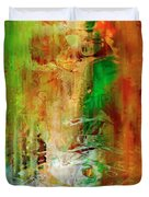 Just Being - Abstract Art Duvet Cover