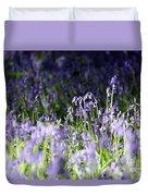 Just Bluebells  Duvet Cover