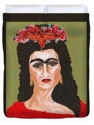 Just Frida Duvet Cover