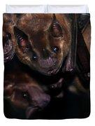 Just Hanging Around - Bats Duvet Cover