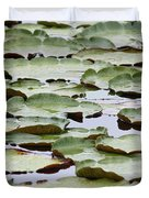 Just Lily Pads Duvet Cover