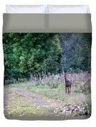 Just Off The Trail Duvet Cover