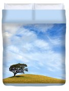 Just One Tree Hill Duvet Cover