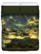Just Over The Hill Duvet Cover
