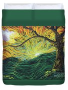 Just Over The Hill Too Duvet Cover