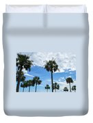 Just Palm Trees Duvet Cover
