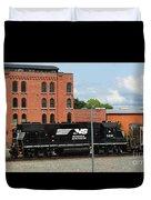 Just Plain Train Love Duvet Cover