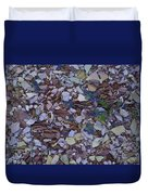 Just Stones Painting Duvet Cover