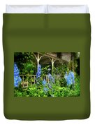 Just The Blues Duvet Cover