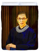 Justice Ginsburg Duvet Cover