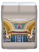 Justice Mural - Capitol - Madison - Wisconsin Duvet Cover