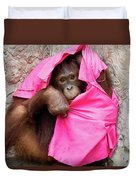 Juvenile Orangutan Duvet Cover