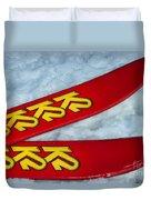 K2 Skis Duvet Cover