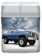 K5 Blazer Duvet Cover