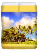 Kaanapali Beach Maui Duvet Cover