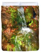 Waterfall Of Love Duvet Cover