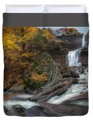 Kaaterskill Falls Autumn Duvet Cover