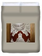 Kabaka Atuuse- The King Has Arrived - Tile Duvet Cover