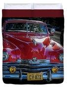 Kaiser Virginian Deluxe - 1949 Convertible Duvet Cover
