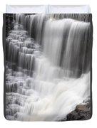 Kakabeka Falls Duvet Cover