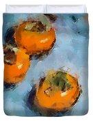 Kaki Duvet Cover