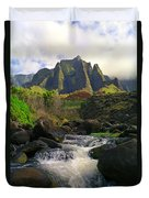 Kalalau Cathedral Duvet Cover