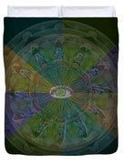 Kaleidoscope Eye Duvet Cover