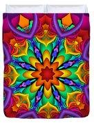 Kaleidoscope Flower 01 Duvet Cover