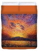 Kaleidoscope Sunrise Duvet Cover