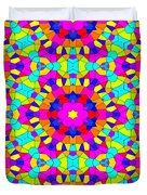 Kaleidoscopic Mosaic Duvet Cover
